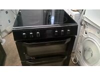 black Ceramic electric cooker 60cm.....mint free delivery