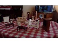 Dolls house furniture job lot.
