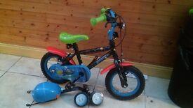 Childs size 12inch bike