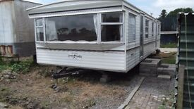 2 bed mobile home to let.