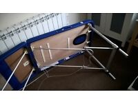 aluminum massage table with cover