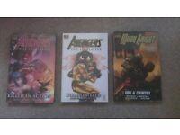 Marvel Hard Back Comic Books x3 - Brand New Unopened