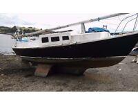 1968 falmoth gypsy sailing boat project
