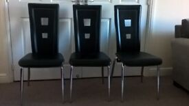 Caravelle Dining Chairs - set of 3