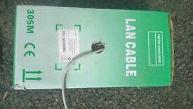 RJ45 Cat 6 ethernet cable