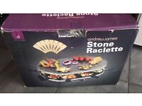 Stone raclette