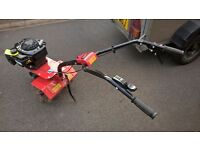 cobra petrol rotovator only used for 3 hours like new
