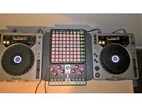 PIONEER CDJ 800 DJ Decks (PAIR)