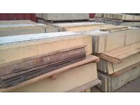 CONCRETE GRAVEL BOARDS AND POSTS CLOSEBOARD FEATHEREDGE FENCE PANELS