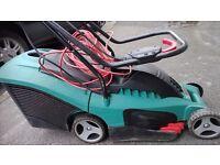 BOSCH Lawnmower Great condition little use ROTAK 34 1400 watt powerful