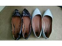 Ladies size 8 shoes (small)