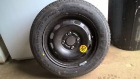Spare Wheel and Tyre for Ford Fiesta