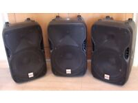 Alto TS115 PA speakers £85 each or £ 220 for all 3