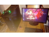 intel i7 4ghz gaming pc windows 10 bargain gtx 660 ti