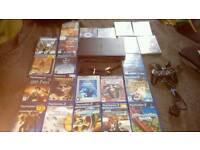 Playstation 2 PS2 fat with 22 games