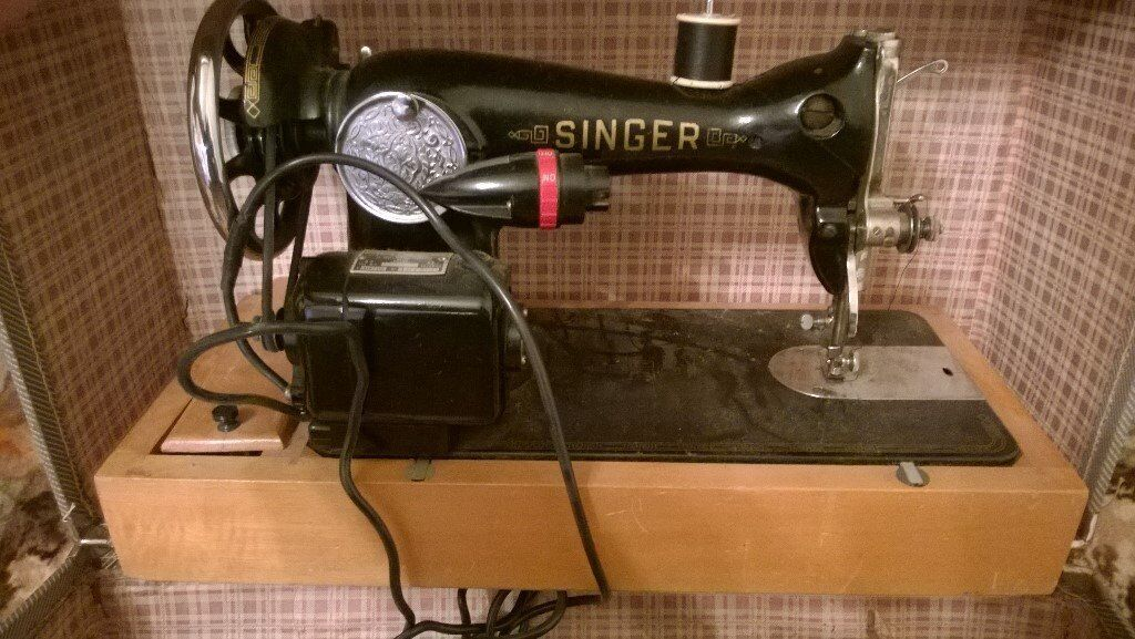 Singer Electric Sewing Machine 40's Style Foot Pedal Control Beauteous Singer Sewing Machine 1960