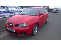 2008 SEAT IBIZA 1.4 DIESEL MANUAL NEW MOT 3 MONTHS WARRANTY