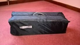 Travel Cot by Mamasandpapas, fully working, in nice clean condition