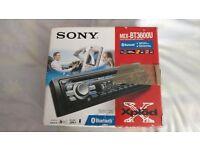 Sony MEX-BT3600u car cd audio player