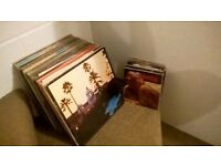 130 x 12'' and 7'' Rock, Psychedelic Rock, Blues Rock Collection for sale