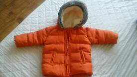 Baby coat size 3-6 months