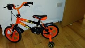 Kids Bike 14 inch with Stabilizers - VERY GOOD CONDITION (CYCLE)