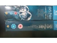 HARRY POTTER COLLECTION ALL 8 FILMS ON BLURAY FANTASTIC CONDITION