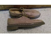 Dr Marten 1980's 'Air Wair' suede shoes; size 8; barely worn
