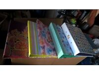 brand new selection of folders
