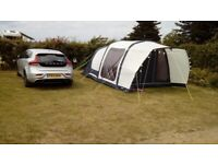 Outdoor Revolution Airedale 4 tent for sale pale grey / blue