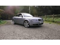 Audi A4 S-line Convertible