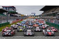 2 x Le Mans Tickets with Camping
