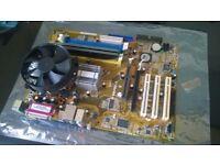 ASUS P5VDC-X 775 Intel gpu ram testing Motherboard AGP & PCI-E, DDR & DDR2 intel D 930 + 2gb pny