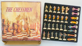 The Chessmen figurine chess pieces