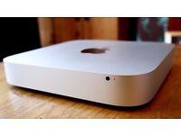 Mac Mini Quad Core i7 16GB RAM SSD 256 & 1TB HD