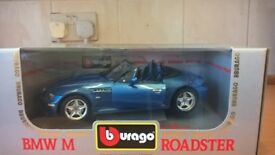 BMW M ROADSTER MODEL CAR VEHICLE 1:18 BRAND NEW