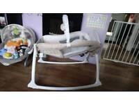 Graco little Lounger crib/basket