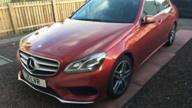 Red Mercedes-Benz E Class For Sale £14,500