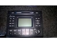 Blaupunkt six disc car radio/cd