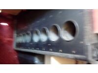 a pair of 800 watt bass bins