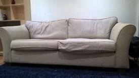 Three seater Marks & Spencer sofa