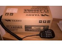 Ham Radio. Yaesu FT 2900 High Power 2 Mtr FM Transceiver