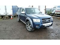 FORD RANGER THUNDER DOUBLE CAB 2007 DIESEL AUTOMATIC 5 SPEED