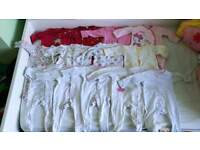 Baby girl clothes bundle 0-3m