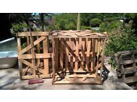 ***Gone subject to collection***Free wooden crates