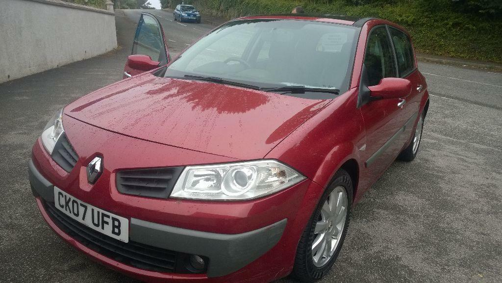 Renault Megane Dynamique Dci In Falmouth Cornwall Gumtree
