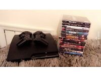 Playstation 3 Bundle - Slim PS3 console, 2 Controllers & 16 games (Perfect Condition) £160 ono
