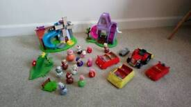 Bundle of Weebles toys