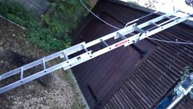 Loft ladder - Beldray 3 section loft ladder with handles