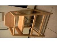 baby/ toddler wooden highchair